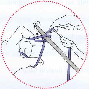 lavorare a maglia avvio