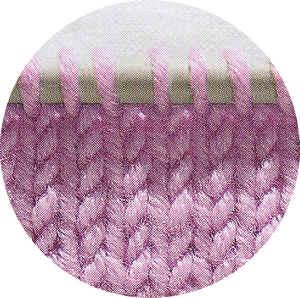 maglia rasata diritto