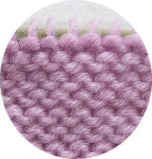 maglia rasata rovescio del lavoro